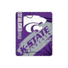 Kansas State Wildcats  Established  Fleece Throw Blanket