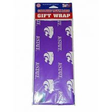 Kansas State Wildcats  Gift Wrap Sheets 12.5 sq. ft.