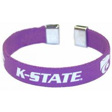 Kansas State Wildcats Ribbon Band Bracelet