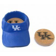 Kentucky Wildcats Team Colored Cap Coaster Set