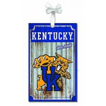 Kentucky Wildcats Corrugated Metal Ornament