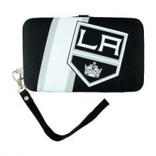 "Los Angeles Kings Distressed Wallet Wristlet Case (3.5"" X .5"" X 6"")"