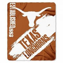 Texas Longhorns  Established  Fleece Throw Blanket