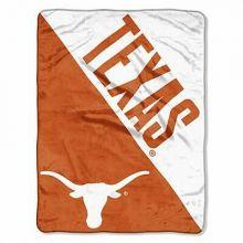 Texas Longhorns Half Tone Super Plush Fleece Throw