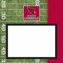 "Arizona Cardinals 8"" X 8"" Complete Scrapbook"