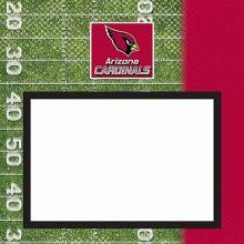 "Arizona Cardinals 8"" X 8"" Complete Scrapbook"