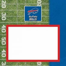 "Buffalo Bills 8"" X 8"" Complete Scrapbook"