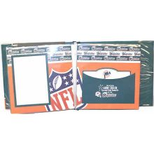 "Miami Dolphins 8"" X 8"" Complete Scrapbook"