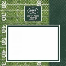 "New York Jets 8"" X 8"" Complete Scrapbook"