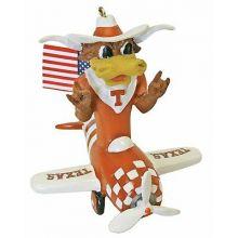 Texas Longhorns Mascot Airplane Ornament