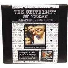 "Texas Longhorns 8"" X 8"" Complete Scrapbook Kit"
