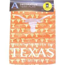 Texas Longhorns Decorative Suede Glitter Garden Flag