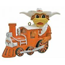 Texas Longhorns Mascot Train Ornament