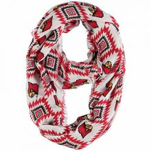 NCAA Licensed Louisville Cardinals Southwest Infinity Scarf