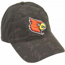 Louisville Cardinals Repeater Glitz Adjustable Hat