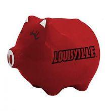 Louisville Cardinals Ceramic Piggy Bank