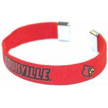 Louisville Cardinals Ribbon Band Bracelet