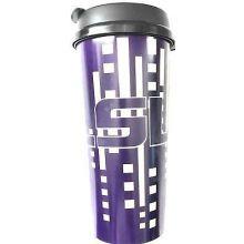 LSU Tigers 16-ounce Insulated Travel Mug