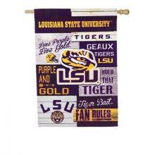 LSU Tigers Field Car Ornament