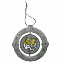 LSU Tigers Holiday Spinner Ornament