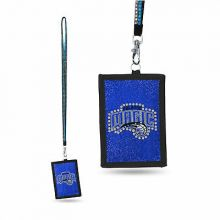 Orlando Magic Beaded Lanyard I.D. Wallet