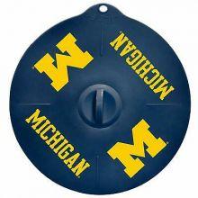 "Michigan Wolverines 9"" Silicone Lid"