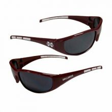 Mississippi State Bulldogs Wrap 3-Dot Sunglasses