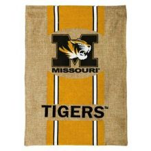 "Missouri Tigers Burlap Vertical Flag 43"" H x 29"" W"