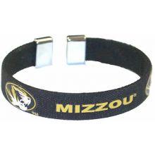 Missouri Tigers Ribbon Band Bracelet