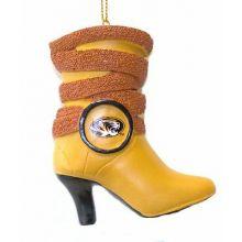 Missouri Tigers Team Boot Ornament