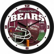 NCAA Missouri State Bears Carbon Fiber Wall Clock
