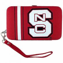 North Carolina State Wolfpack Distressed Wallet Wristlet