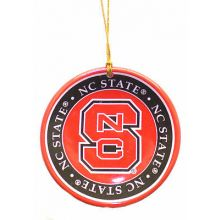 North Carolina State Wolfpack Ceramic Mini Plate Ornament
