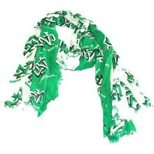 North Dakota Fighting Souix Split Logo Scarf