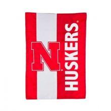 Nebraska Cornhuskers Embellish House Flag