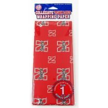 Nebraska Cornhuskers  Gift Wrap Sheets 12.5 sq. ft.