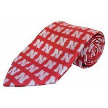 NCAA Officially Licensed Nebraska Cornhuskers Repeater Silk Necktie