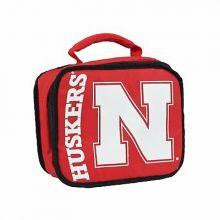 NCAA Nebraska Cornhuskers Sacked Insulated Lunch Cooler Bag
