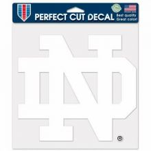 "NCAA Licensed Notre Dame 8"" X 8"" Perfect Cut Decal"