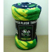 Notre Dame Fighting Irish Super Plush Throw Blanket