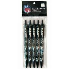 New York Jets 5 Count Click Pens
