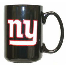 New York Giants NFL Official Mug Black Glossy Large 425ml