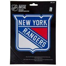 "New York Rangers 5.75"" X 7.75"" Die-Cut Window Decal"