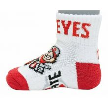 Ohio State Buckeyes Baby Quarter Socks