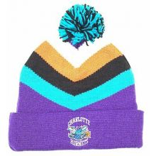 NBA Officially Licensed Charlotte Hornets Mitchell & Ness Purple Turquoise Black