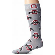 "Ohio State Buckeyes  Gray ""Ohio State"" Repeater Dress Socks"