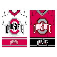 Ohio State Buckeyes Double Sided Jersey Suede Garden Flag, 12.5 x 18 inches