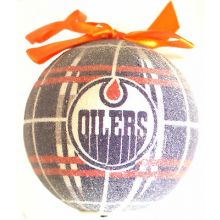 Edmonton Oilers 100 MM LED Ball Ornament