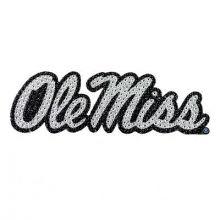 """Ole Miss Rebels 6"""" Bling Emblem"""
