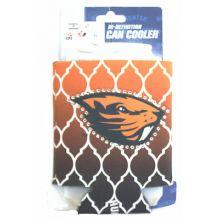 Oregon State Beavers Hi-Definition Team Color Beaded Can Koozie Cooler